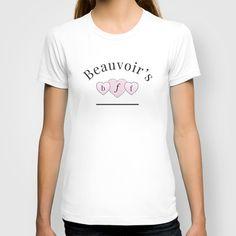 Beauvoir's B.F.F. T-shirt #feminism #girlpower #beauvoir