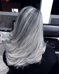 Gray Wigs Lace Frontal Wigs Beard Oil For Grey HairEmbracing Grey Hair – Aduatify Grey Hair Wig, Long Gray Hair, Lace Hair, Affordable Human Hair Wigs, Gray Hair Highlights, Grey Hair Inspiration, Salt And Pepper Hair, Natural Hair Styles, Long Hair Styles