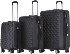 In drei Größen oder im Set, in vielen Farben erhältlich #Koffer #Reisen Suitcase, Fashion, Twins, Viajes, Blue, Bags, Colors, Moda, Fashion Styles