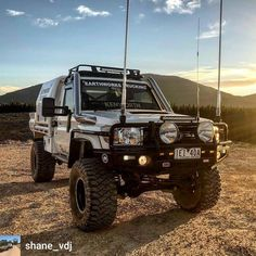 Boost your Camping Experience With These kinds of Tips Toyota Lc, Toyota Trucks, Toyota Hilux, Ford Trucks, Landcruiser Ute, Landcruiser 79 Series, Overland Truck, Expedition Truck, Daihatsu