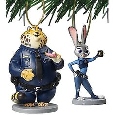 """#Christmas Extra Info Disney Zootopia """"Judy Hopps & Benjamin Clawhauser"""" 2 pc Ornament Set for Christmas Gifts Idea Sales . Youngsters might have a lot of fun playing with his or her  Christmas Toys. Even so, it's critical to keep in mind of which security will most likely always are available very first. Every year many..."""