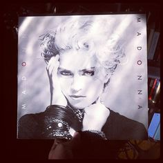 Getting' down with #Madonna this morning. #Vinyl dedication to Z