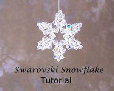 Tutorial Floral Burst II Earrings Swarovski by NwbeadTutorials
