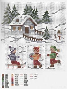 Thrilling Designing Your Own Cross Stitch Embroidery Patterns Ideas. Exhilarating Designing Your Own Cross Stitch Embroidery Patterns Ideas. Cross Stitch House, Xmas Cross Stitch, Just Cross Stitch, Cross Stitch Charts, Cross Stitch Designs, Cross Stitching, Cross Stitch Embroidery, Cross Stitch Patterns, Cross Stitch Christmas Ornaments