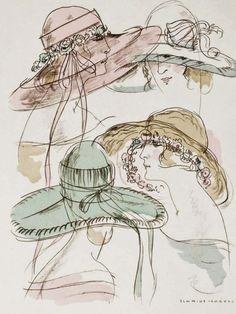 1922 Hats ~ Schmidt-Carroll