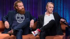 Kristofer Hivju and Thorbjørn Harr