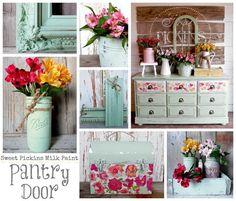 Pantry Door Milk Paint