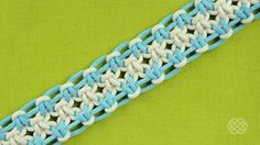 How to Tie a Square Knot with Eight Strings « Jewelry