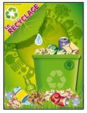 Programmation sur le thème du recyclage avec des activités éducatives; jeux…