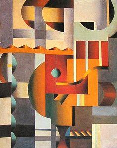 Suprematist Composition by Anna Kagan