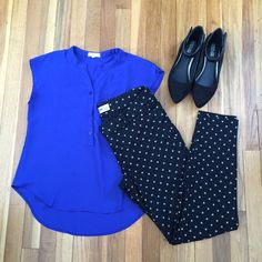 Old Navy Pixie Pants size 8 95% cotton 5% spandex this Pixies are stretchy, comfy and dressy. (Shirt and shoes not included) Old Navy Pants