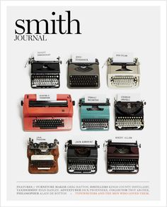 Writers and their typewriters