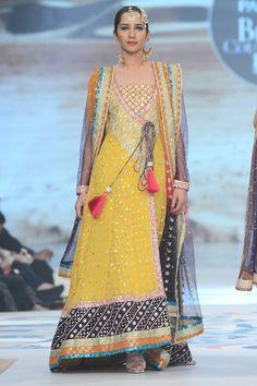 Zainab Chottani Bridal Collection at PBCW 2014 Day 1