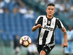 Juventus' Argentinian forward Paulo Dybala runs for the ball during the Serie A…