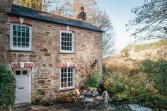 Umber Cottage | Luxury Self-Catering | St Agnes, Cornwall Cottage Farmhouse, Cottage Homes, Farmhouse Decor, Unique Cottages, Country Cottages, Secret Hideaway, St Agnes, Self Catering Cottages, Stone Flooring