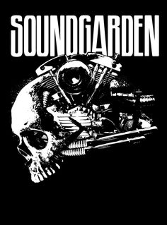Soundgarden by Brandon Heart, via Behance Rock Posters, Band Posters, Music Posters, Retro Posters, Chris Cornell, Festival Posters, Concert Posters, Gig Poster, Linkin Park Logo