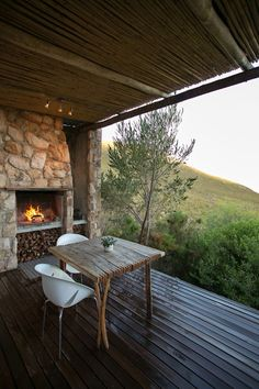 A romantic mountain lodge in the tranquil mountains of the Overberg, South Africa