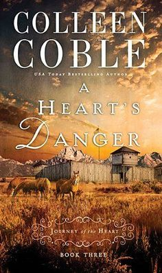 Colleen Coble - A Heart's Danger / #awordfromJoJo #ChristianFiction