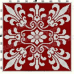 New knitting projects christmas stitches Ideas Crochet Cross, Crochet Chart, Filet Crochet, Cross Stitch Love, Cross Stitch Designs, Cross Stitch Patterns, Cross Stitching, Cross Stitch Embroidery, Embroidery Patterns