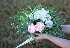 Romantic Wedding Bouquet Bridal Bouquet Floral by AlookFlowers