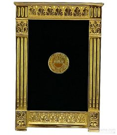 4accab46400 FEDERAL by Elias Artmetalregbrin luxe 18kt museum gold vermeil Photo Gifts