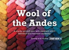 Wool of the Andes Yarn at Knit Picks