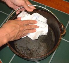 *Tips on how to care for your cast iron dutch ovens....Chuckwagon Supply