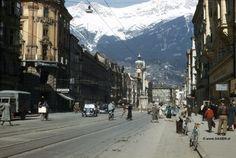 Innsbruck 1950  Maria Theresien Strasse