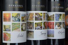 Pfneiszl bottles of the Merlot, Kékfrankos and Tango Cuvée Tango, Bottles, Mugs, Tableware, Dinnerware, Tumblers, Tablewares, Mug, Dishes