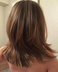 Little Girls Medium Layered Haircut