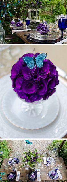 bouquete con mariposas