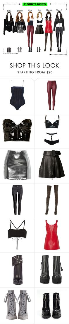 """""""""""I Don't Need"""" 1st Dance scene"""" by starz-official ❤ liked on Polyvore featuring Topshop, StyleStalker, Carven, H&M, Maison Margiela, Yves Saint Laurent, Jeffrey Campbell, Zimmermann and Prada"""