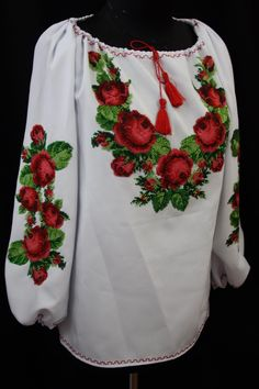 Ethno Style, Blouse Outfit, Floral Tops, Textiles, Colours, Costumes, Embroidery, Sewing, Outfits
