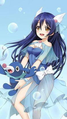 Love Live!'s Umi and Pokemon Sun/Moon's Popplio