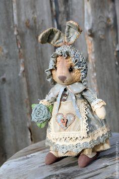 Текстильная ароматизированная кукла Зайка #toy