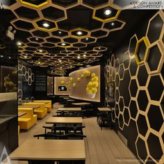 Ceiling Design Restaurant A lot of people prefer simple flat white ceilings. 65 ceiling design ideas that rocks. Restaurants With Striking Ceiling Designs Masa restaurant in bogota Restaurant Design Moderne, Deco Restaurant, Restaurant Interior Design, Cafe Interior, Modern Interior Design, Resturant Interior, Restaurant Offers, Design Lab, Cafe Design