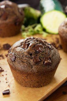 chocolate chunk Zucchini muffin