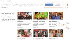 Example 6 – Google Adwords - Success Stories Page - Small/Medium