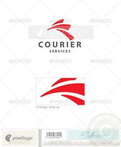 Transport Logo - 2005 by pixellogo An excellent logo template highly suitable for shipping and transportation businesses. Fully layered logo template. All colors an