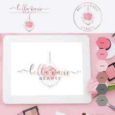 Beautiful logo designs for bloggers, photographers, florists, event planners, boutiques, network marketers, designers, stylists, interior designers and other businesses. Get a professional logo for your business from Dovestail Vintage cake logo - bakery logo - salon logo