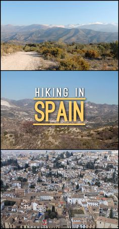 This half day hike near Granada, Spain is a great way to get out into the stunning countryside. Beas de Granada to Granada -- one of the best hikes in Spain!