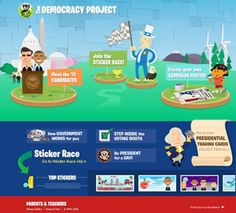While kids can't vote, that shouldn't stop them from learning about how we elect our President and understanding how our government works and–who knows–perhaps work to improve the processes for the next generation.    Here are some kid-friendly resources aimed at 6-13 year olds worth checking out before Americans head to the polls on November 6th.