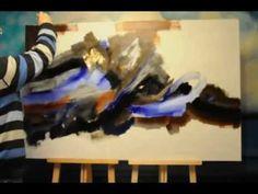 Abstract Painting. Abstrakte Malerei.Peinture abstraite.抽象绘画.抽象画.AVI - YouTube