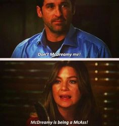 Grey's anatomy... this is so Olivia and Fitz !!!!!