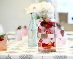 Another lovely tablescape from Sarah at A Beach Cottage.