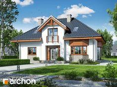 Dom w kalateach 2 Village House Design, Village Houses, Minimalist Home, Home Fashion, Home Interior Design, Mansions, House Styles, Home Decor, Houses
