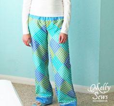 Пижамные штаны (шитье, мастер класс)