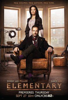 [TV series] Jonny Lee Miller as Sherlock Holmes and Lucy Liu as Joan Watson (Elementary, 2012-...)