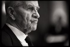 Simple wedding portraiture on film - the grandfather (2010) by Edward Olive