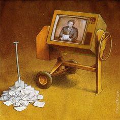 concrete mixer ( propaganda ) , Pawel Kuczynski ,